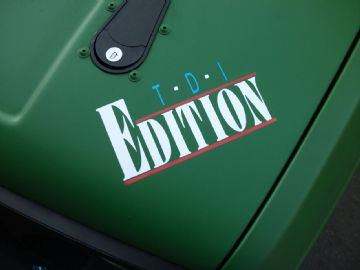 'TDI Edition' sticke​r /DecalFor VW Lupo 3L, Polo, Caddy TDI, T4 Turbo Diesel Golf, Dub, Passat